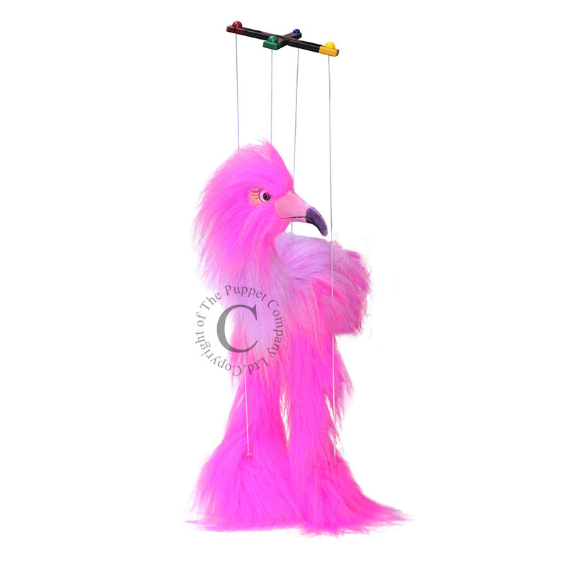Marionet Little Pink Bird (small)