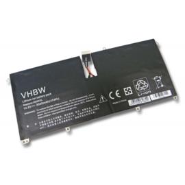 VHBW Accu Batterij 685989-001 e.a. - 3040mAh 14.8V