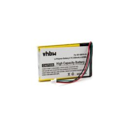 VHBW Accu Batterij Garmin 361-00019-12 - 1250mAh