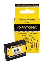 Patona Accu Batterij Casio Exilim EX-ZR1000 - 1500mAh 3.7V