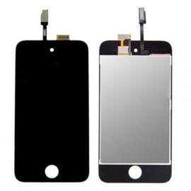 LCD + Touchscreen voor Apple IPod Touch 4 - Zwart