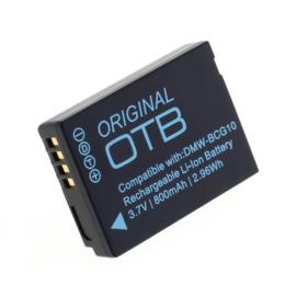 Original OTB Accu Batterij Panasonic DMW-BCG10E - 800mAh