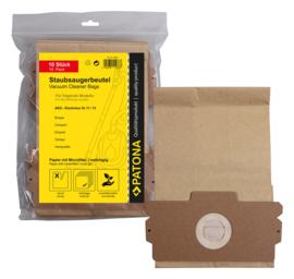 80 stofzuigerzakken meerlagig papier incl. 8x Microfilter AEG 11 13