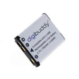 Digibuddy Accu Batterij Aldi Traveler Slimline Super Slim XS80