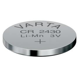 1x Knoopcel Button Batterij VARTA CR2430