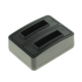 ‎OTB Compact Duo oplaadstation 1302 - voor 2x NB-12L Accu