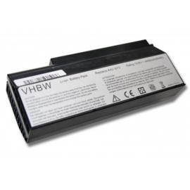 VHBW Accu Batterij Asus A42-G73 - 4400mAh 14,8V