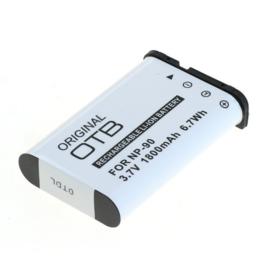 Original OTB Accu Batterij Casio NP-90 - 1800mAh