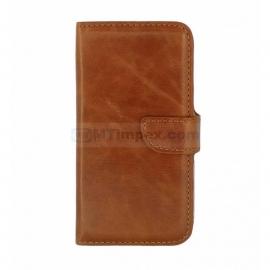 Bookstyle Case hoesje Sony Xperia M4 - Bruin