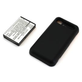 Power Accu Batterij  HTC Incredible S S710e BA S520