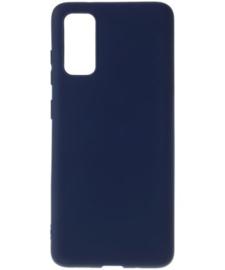 "TPU telefoonhoesje Samsung Galaxy S20 Ultra (SM-G988... 6.9"") - Blauw"