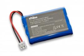 Accu Batterij Audioline Baby Care V100 e.a. - 900mAh 3.6V GP100AAAHC3BMJ