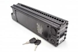 VHBW E-Bike Accu Batterij Samsung SDI 36V 10.4Ah Zadelbuis ECC 400