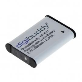 Digibuddy Accu Batterij Sony NP-BY1 / CS-SAZ100MC - 600mAh