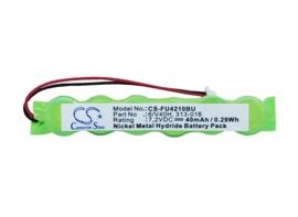Vervangende Bios Cmos Batterij 313-016 - 7,2V 40mAh