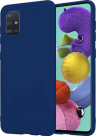 TPU Case voor Samsung Galaxy A11 SM-A115 - Blauw