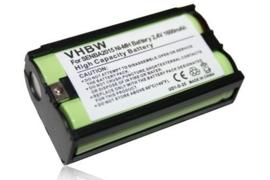 vhbw Accu Batterij Sennheiser BA 2015 BA2015 - 1500mAh