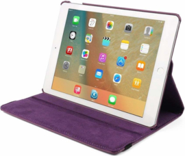 "Tablethoes Apple iPad A2197 10.2"" - 360° Draaibaar  - Paars"