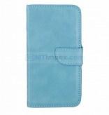 Bookstyle Case hoesje Sony Xperia XZ - Aqua Blauw