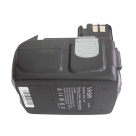 14,4V VHBW Accu Batterij Hitachi BCL 1415 - 2000mAh Li-Ion
