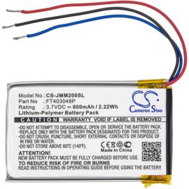 Accu Batterij JBL Micro 2 - FT403048P CS-JMM200SL - 600mAh