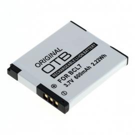 Originele OTB Accu Batterij Panasonic DMW-BCL7 - 600mAh