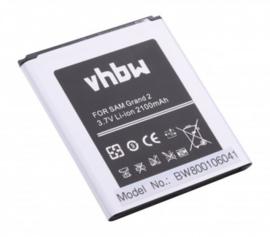 VHBW Accu Batterij Samsung EB-B220AE / EB-B220AC - 2100mAh