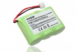 Accu Batterij Philips 60AAH3BMX  e.a.- 600mAh 3.6V