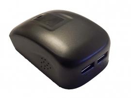 Accu Adapter voor Bosch accu 14,4 - 18V + 2x USB