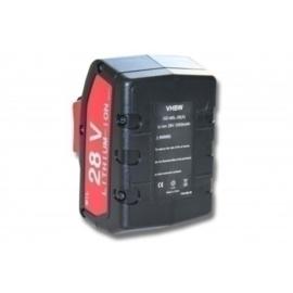 Accu Batterij voor AEG 48-11-1830 - Li-Ion 28V 2000mAh