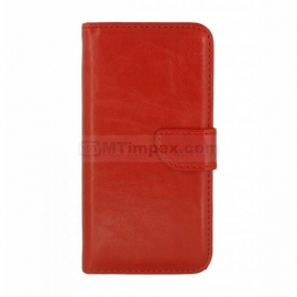 Bookstyle Case hoesje Sony Xperia M4 - Rood