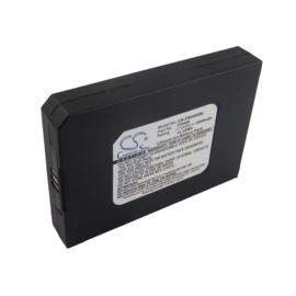 Accu Batterij voor First Data FD-400 Serie - FD400 - 7.4V