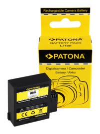 Patona Accu Batterij Rollei Rollei Rollei Actioncam Bullet S-50 Wifi - 1500mAh 3.7V