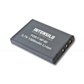 Intensilo Accu Batterij Fuji NP-60 - 1300mAh met 2 jaar garantie