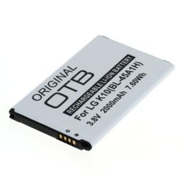 Accu Batterij LG K10 4G LTE e.a. BL-45A1H  - 2000mAh