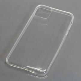 """TPU Case voor Apple iPhone 2019 6.1"""" - volledig transparant"""