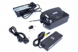 E-Bike Li-ion Accu Batterij 9,0Ah 24V - Incl. Oplader en Sleutels - Kikker