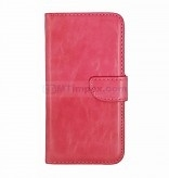 Bookstyle Case hoesje Sony Xperia E4 - Roze