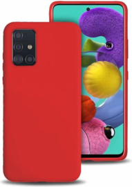 TPU Case voor Samsung Galaxy A11 SM-A115 - Rood