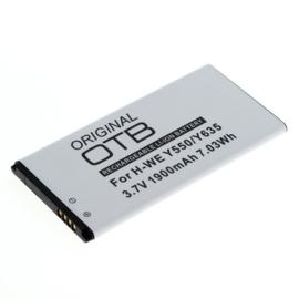 Accu Batterij Huawei Ascend G620 - 1900mAh