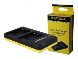 Patona USB Dual Quick Charger voor de Accu Sony NP-BN1