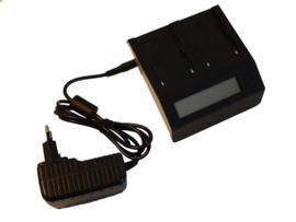 B&W Duo Oplader voor accu Sony BP-U60 met Display