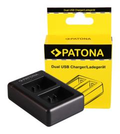 Patona Duo Oplader voor Garmin Virb XE