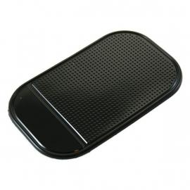 Anti Slipmat voor o.a. mobiele telefoon - 14.5 x 8.6cm - Zwart