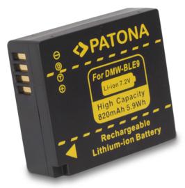 Patona Accu Batterij Panasonic Lumix DMC-GF3 etc - DMW-BLE9(E)