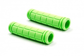 2x Handvat Kinderfiets 115mm lang 23mm diameter - Groen
