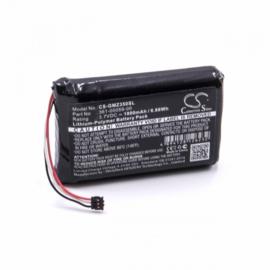 Accu Batterij Garmin Zumo 340 350 390 LM - 361-00059-00 - 1800mAh