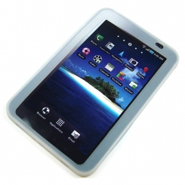 TPU case / hoes Samsung Galaxy Tab / P1000 Transparant OP=OP