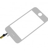 Touch Screen voor Apple IPhone 3GS - Wit