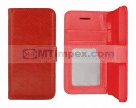 Stylish Book Photo Alcatel One Touch Pop C9 - Rood